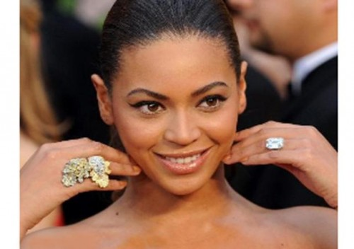 Beyonce Wedding Ring Photos Pictures