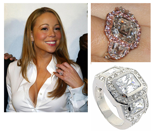 Biggest Wedding Ring Celebrities Fashion Belief