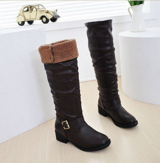 Black Boots For Women Leather