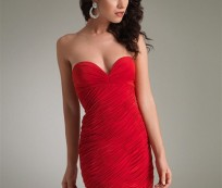 Sexy and Elegant Red Cocktail Dresses