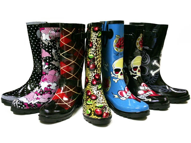 Fun Rain Boots For Adults - Yu Boots
