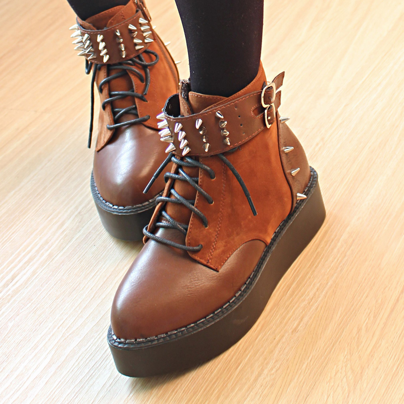 Amazoncom brown ankle boot Clothing Shoes amp Jewelry
