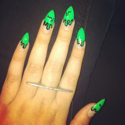 Cute Fake Nail Designs Fashion Belief