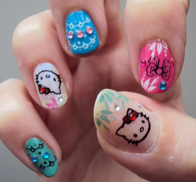 The Awesome Cute nails Picture