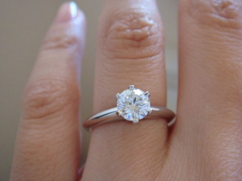 Diamond Wedding Rings Tiffany