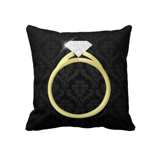 Disney Wedding Ring Pillow