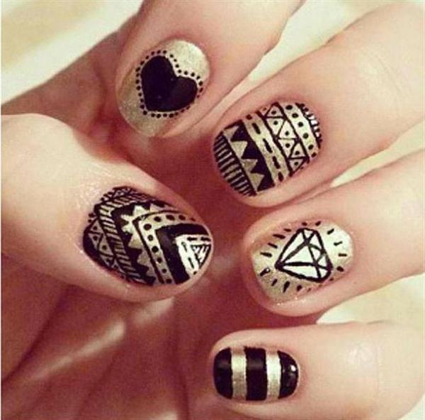 Nail Art Designs For Beginners: Easy Nail Art Designs For Beginners
