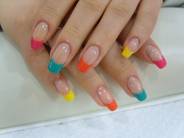 French Manicure Designs At Home Fashion Belief
