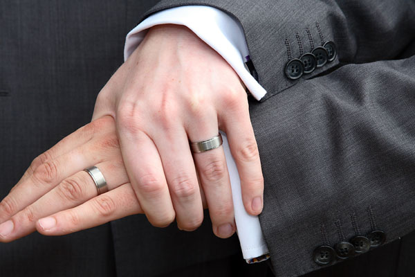 gay men wedding ring fashion belief