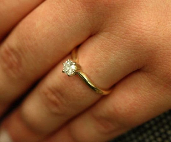Jewish Wedding Ring Finger