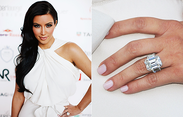 Kim Kardashian Wedding Ring Size