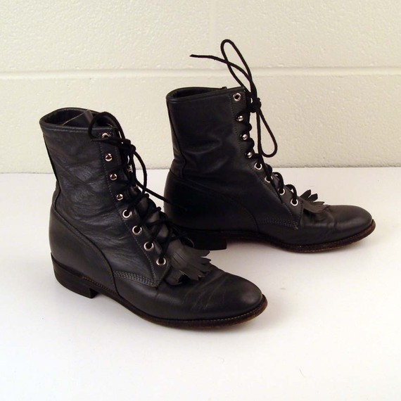 Lace Up Boots For Women - Cr Boot