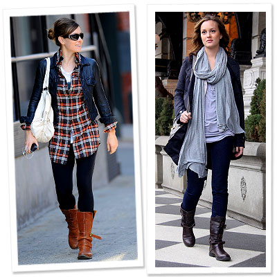 Motorcycle Style Boots For Women