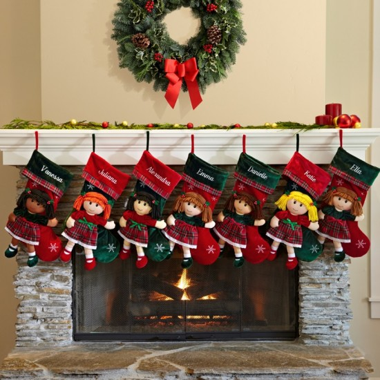 Personalized Baby Christmas Stocking