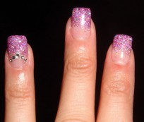 Some Kind of Pink and White Nails Designs