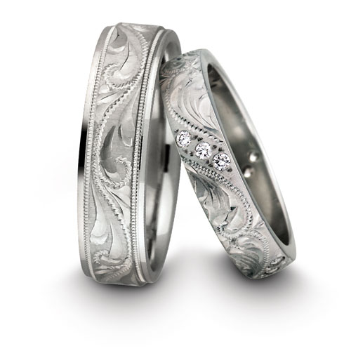 Platinum Wedding Rings For Couples
