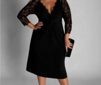 """""""Big is Beautiful"""" with Plus Size Cocktail Dresses"""