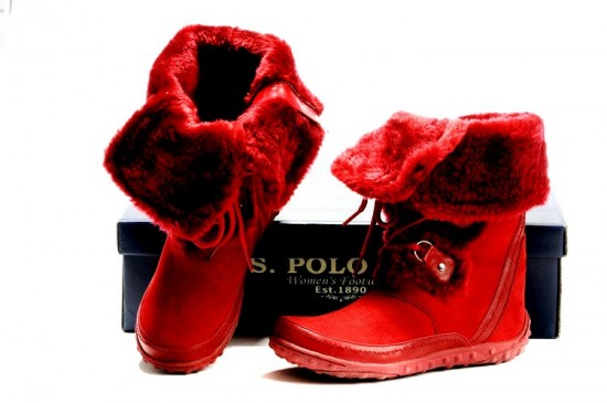 Polo Boots For Women With The Fur