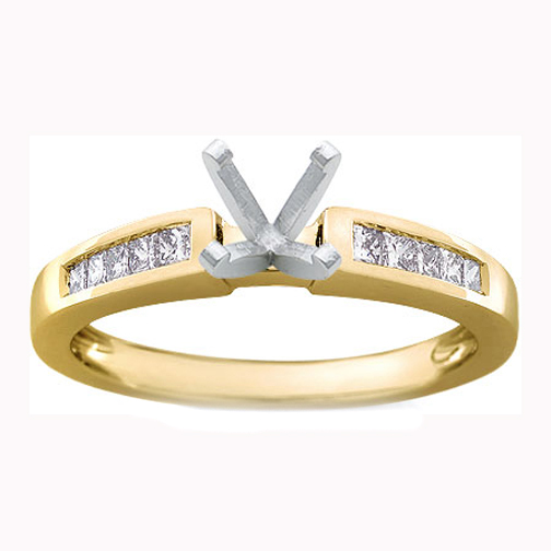 Princess Cut Wedding Rings Under 1000