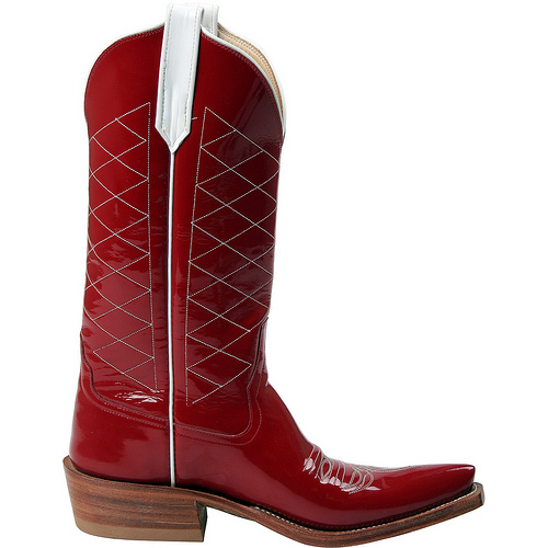 Red Cowboy Boots For Women Size 11