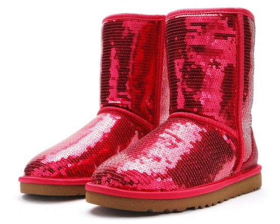 Red Sparkle Ugg Boots