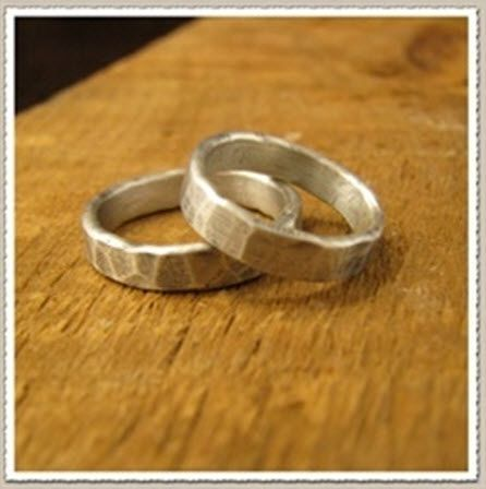 Silver Mens Wedding Rings
