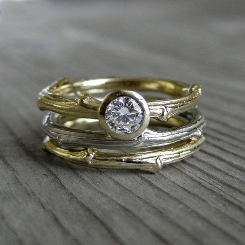 Simple Wedding Ring Sets