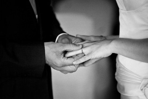 Simple Wedding Ring Vows