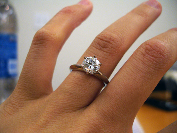 Tiffany Engagement Ring Fashion Belief