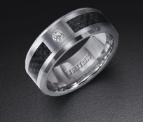 Strong and Durable Men's Tungsten Wedding Bands