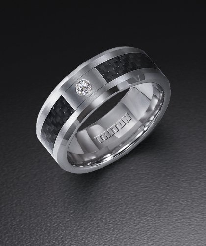 Mens Tungsten Carbide Wedding Bands Fashion Belief
