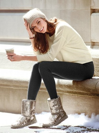 Ugg Sparkle Boots Champagne