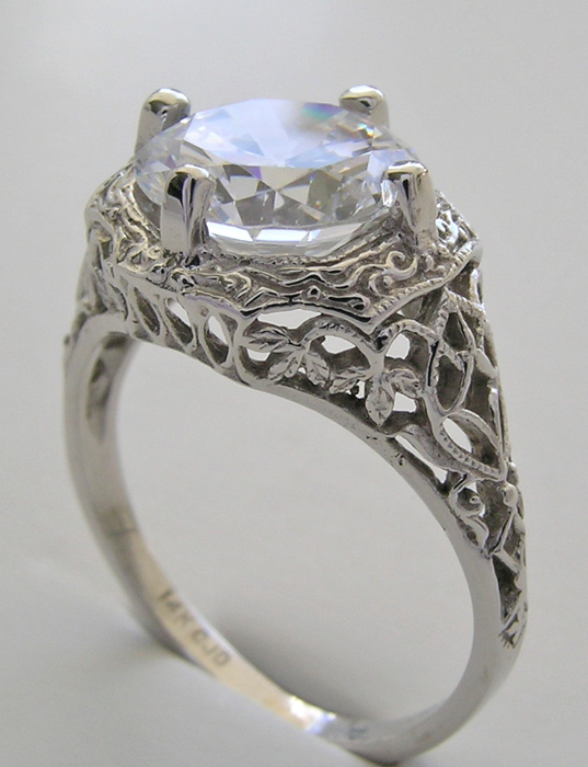 vintage wedding ring mountings fashion belief