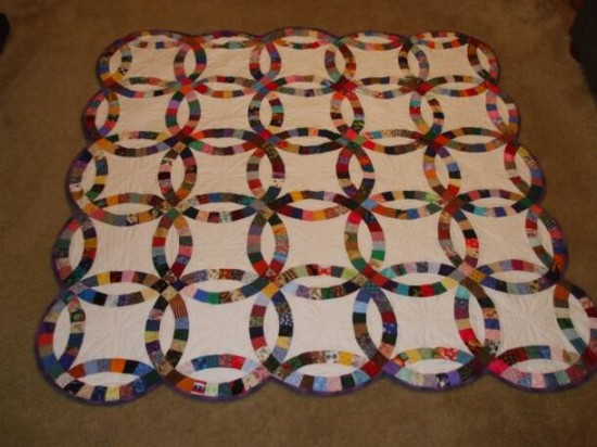 Wedding Ring Quilts For Sale