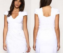 The Perfect Summer Dresses: White Cocktail Dresses