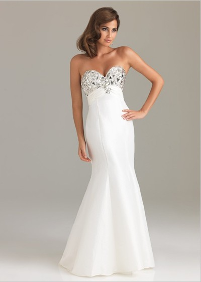 White Orchid Prom Dresses