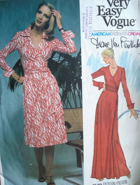 Womens Wrap Dress Pattern