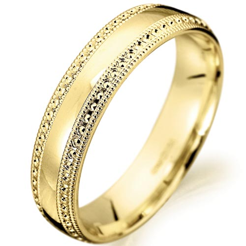 Women's Yellow Gold Wedding Bands