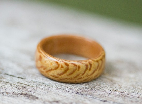 Wooden Wedding Rings Etsy
