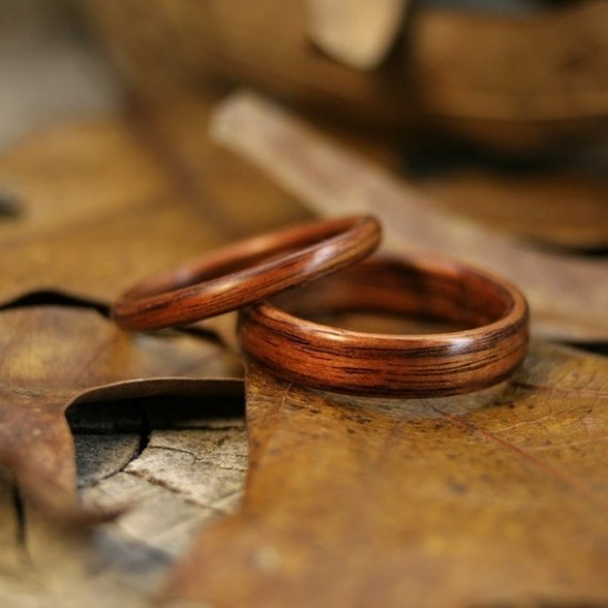 Wooden Wedding Rings For Men