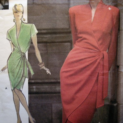 Wrap Dresses Patterns