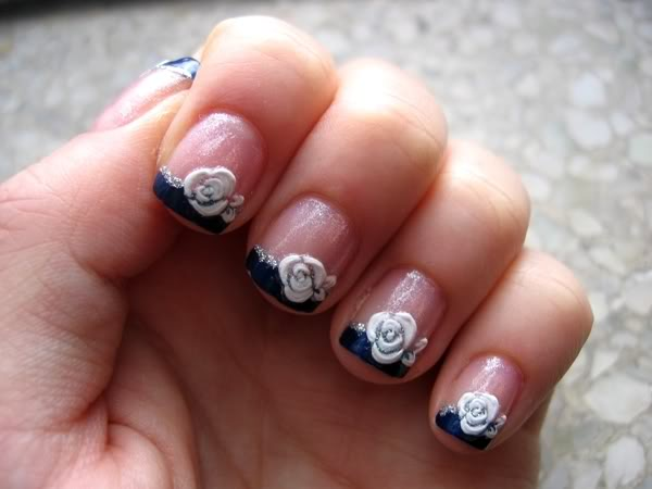Zebra Nail Designs For Short Nails