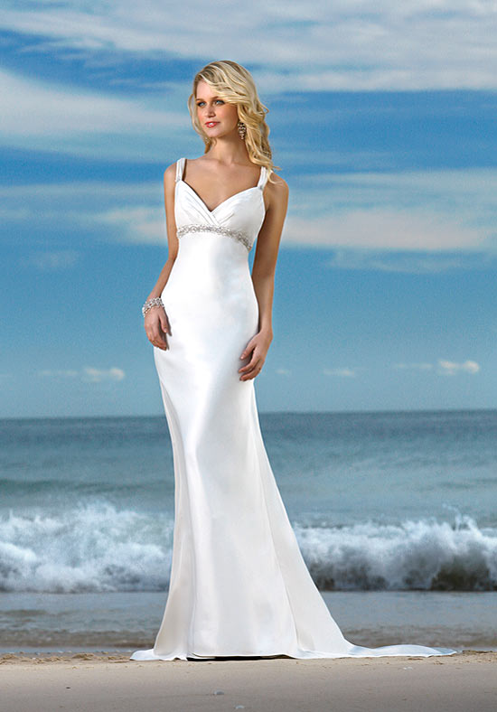 Beach wedding dresses fashion belief for Best beach wedding dresses