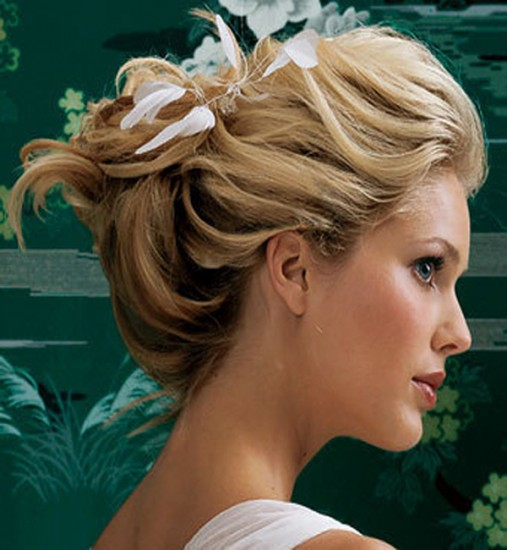Beach Wedding Hair Pictures