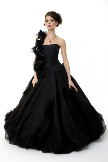 Black Cinderella Dress Photos