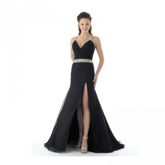 Black Cinderella Prom Dress