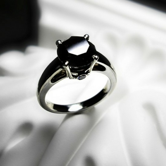 Black Diamond Ring Wow