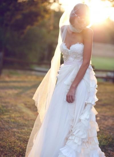 Bohemian Wedding Dresses Etsy