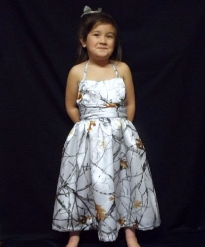 d8c8e6e7232 Camouflage Flower Girl Dresses