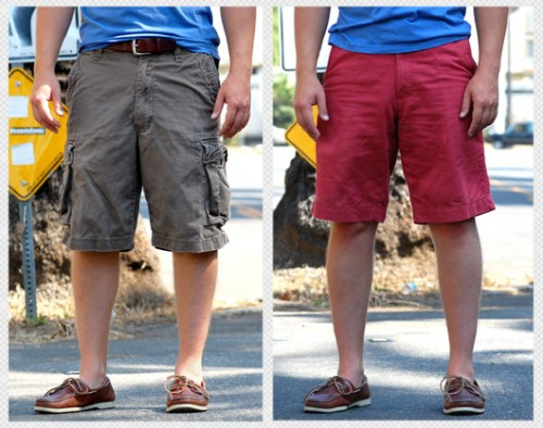 Cargo Shorts Style Picts